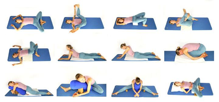 Livre Yin Yoga postures
