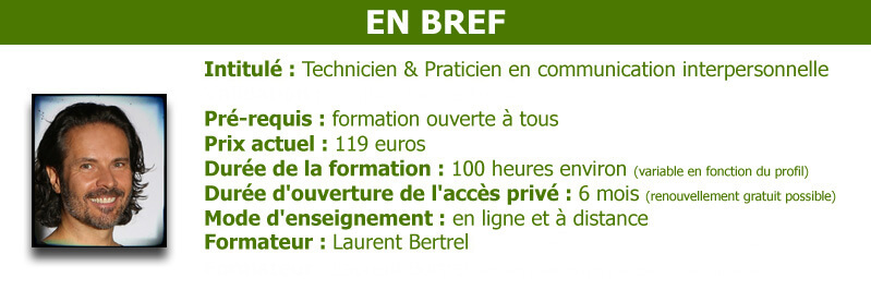 Formation communication interpersonnelle